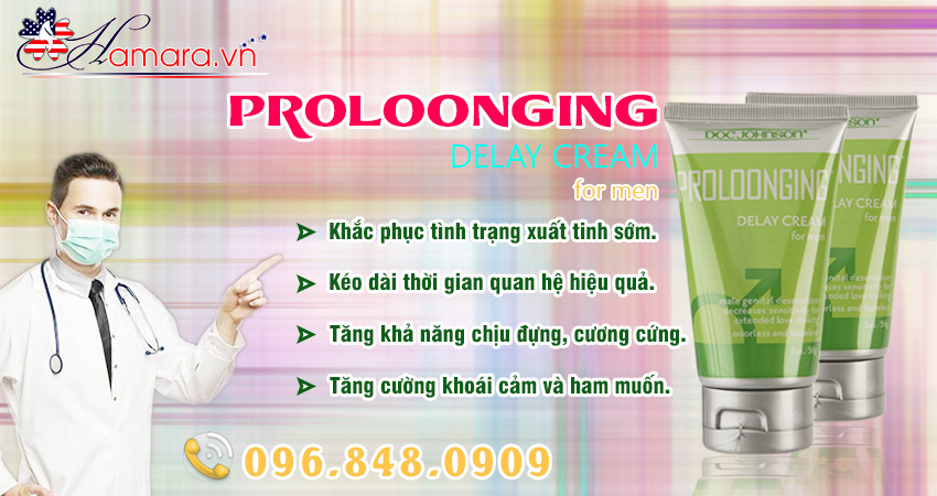 Proloonging - Gel hỗ trợ chống xuất tinh sớm